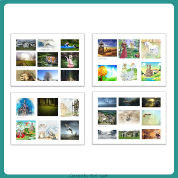 Writing FAIRY TALES with PICTURE PROMPTS