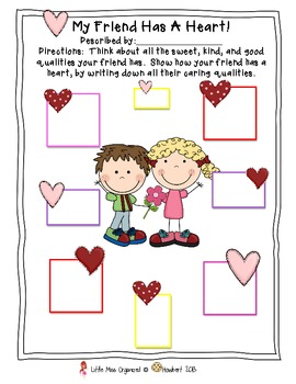 Writing Fabulous Valentine Friendly Letters