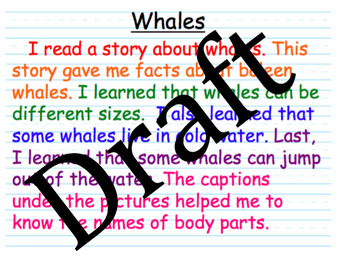 Writing Facts and Details (Expository Writing)