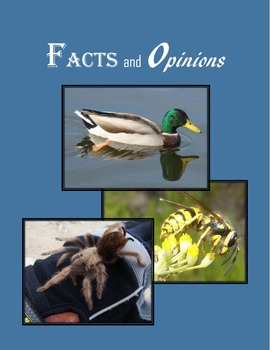 Writing Facts and Opinions