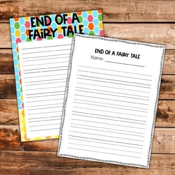 Writing Fairy Tale Unit