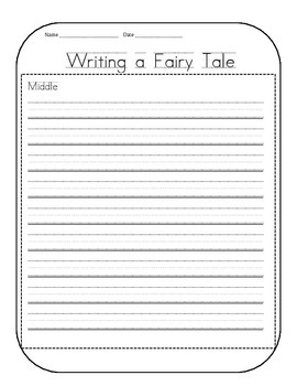 Writing Fairy Tales Graphic Organizer