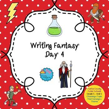Writing Fantasy - Lesson 4