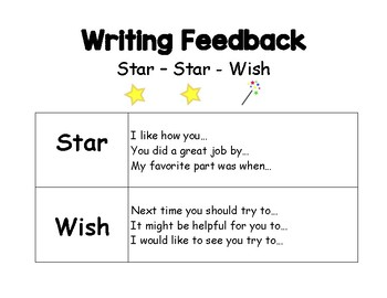 Writing Feedback