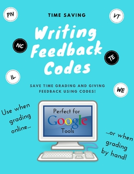 Writing Feedback Comment Codes