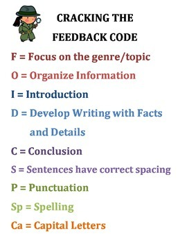 Writing Feedback Made Easy!