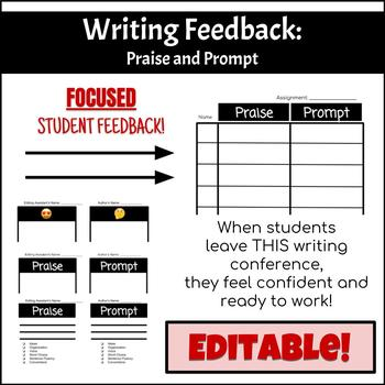 Writing Feedback: Praise and Prompt