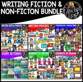 Writing - Fiction and Non-Fiction Clip Art Bundle {Educlips Clipart)