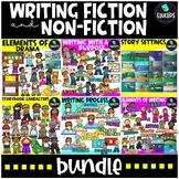 Writing - Fiction and Non-Fiction Clip Art Bundle {Educlip