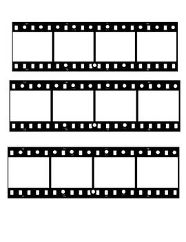 Writing Film Roll (FREEBIE)