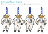Writing Finger Spacers (Astronaut)