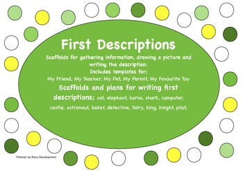 Writing First Descriptions