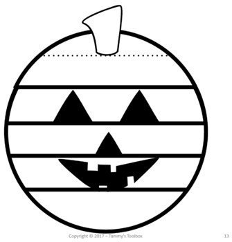 Halloween Pumpkin Writing Craft