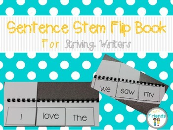 Writing Flip Books for Striving Writers