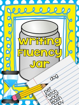 Writing Fluency Jar Making Connections with Words