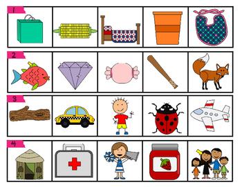 Writing Fluency Strips {Set1 CVC, CCVC, & CVCC Words}