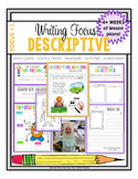 Writing Focus #3: Descriptive Writing
