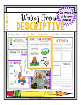 Writing Focus #3: Descriptive Writing