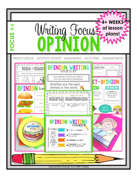 Writing Focus #4: Opinion Writing