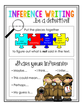 Writing Focus #5: Inferring