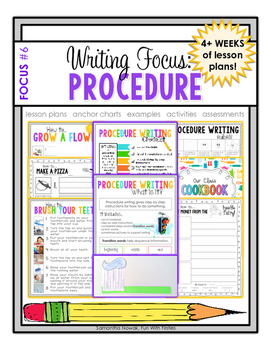 Writing Focus #6: Procedure / How To Writing