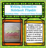Writing Foldable for Interactive Notebook - Hamburger Essay