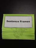 Writing Foldable with Sentence Frames for all Types of Writing