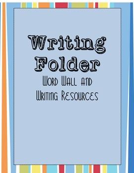 Writing Folder