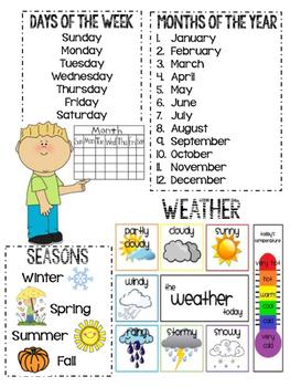 Writing Folder Anchor Chart