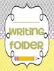 Writing Folder Cover