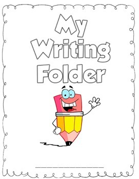 Writing Folder Cover