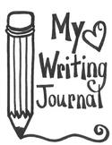 Writing Folder Cover and Idea Web