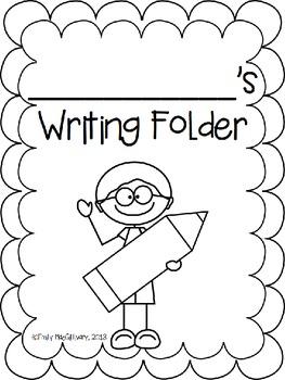 Writing Folder Covers