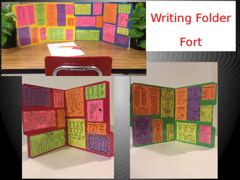 WRITING Folder Fort Partition Figurative Language Traits T