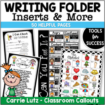 Writing Folder Inserts For the Primary Grades