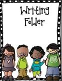 Writing Folder Cover (Free)