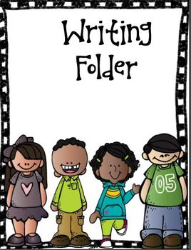 Writing Folder Cover (Free)