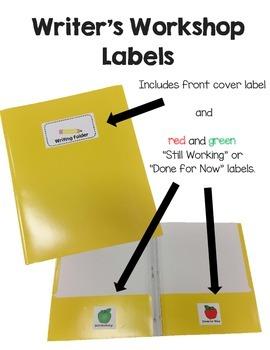 Writing Folder Labels