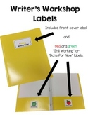 Writing Folder Labels