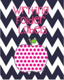 Writing Folder Labels (Pockets Inside)
