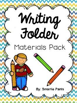 Writing Folder Materials Pack