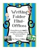 Writing Folder Mini-Offices for Writing Workshop