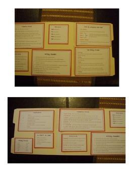 Writing Folder Printables
