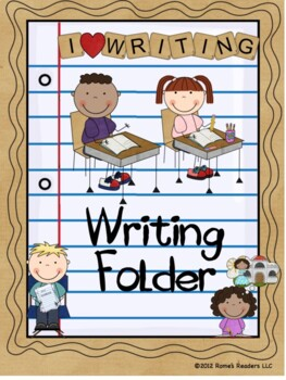 Writing Folder Resource Tool For Aspiring Authors 435389 on Nd Grade Spelling Worksheets Math Cover