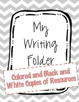 Writing Folder Resources