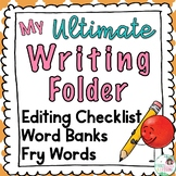 Writing Folder with Digital Option - Distance Learning