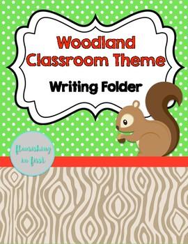 Writing Folder - Woodland Theme