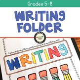 Writing Workshop Folder