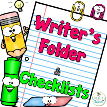 Writing Folder for Organizing Writing Projects