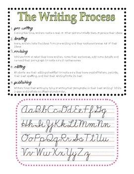 Writing Folder - junior grades